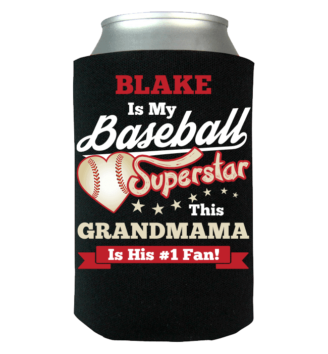 Baseball Superstar Can Wraps Black Blake T-ShirtsHoodies.com