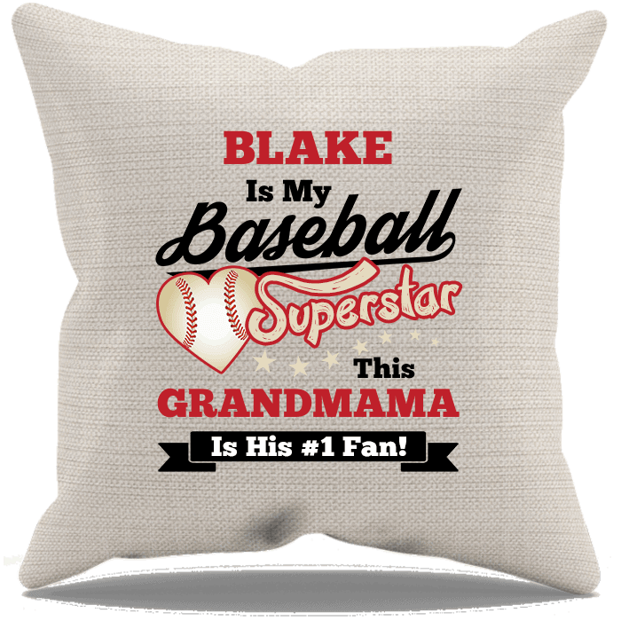 Baseball Superstar Pillow Cases Cream Blake T-ShirtsHoodies.com