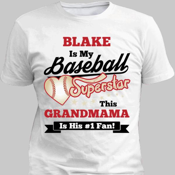 Baseball Superstar T-Shirt White 700