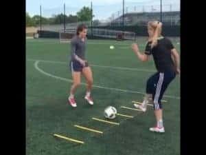 Girls Soccer Training Video