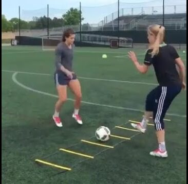 Girls Soccer Training Video