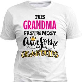 Personalized Awesome White T-Shirt