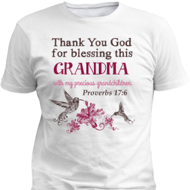 Thank You God Personalized Custom Printed T-shirts