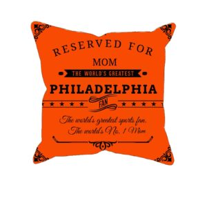 Personalized Philadelphia Hockey Fan Pillow Case