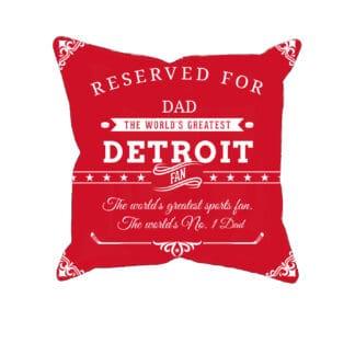 Personalized PrintedDetroit Hockey Fan Pillow Case