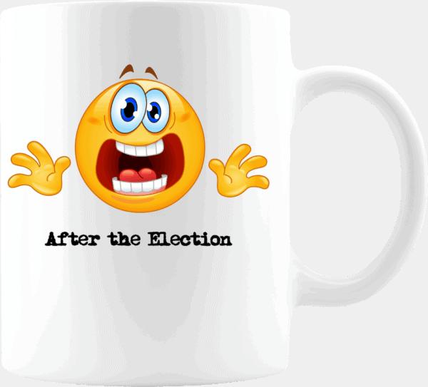 Custom Printed Emoji After the Election Coffee Mug