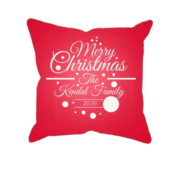 Merry Christmas 2020 - Personalized Pillow Case