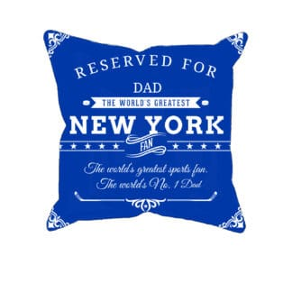 Personalized Printed New York Hockey Fan Pillow Case