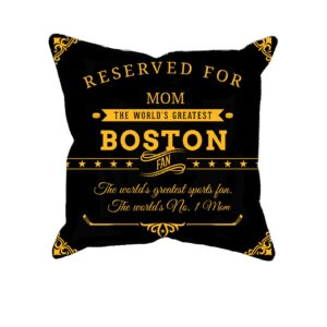 Personalized Printed Boston Hockey Fan Pillow Case