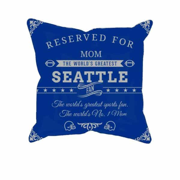 Personalized Printed Seattle Football Fan Pillow Case