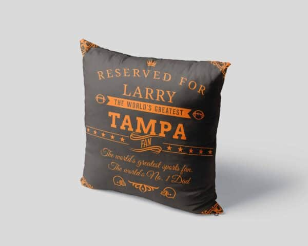 Personalized Printed Tampa Football Fan Pillow Case Site 4