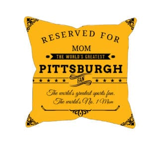 Personalized Printed Pittsburgh Hockey Pillow Case