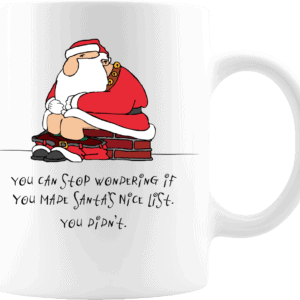 Bad Santa Mug – Custom Printed Coffee Mug