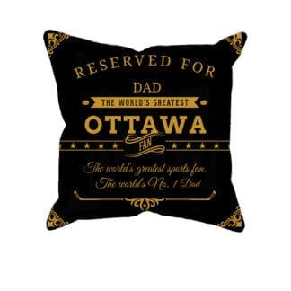 PersonalizedOttawa Hockey Fan Pillow Case