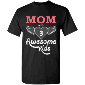 Awesome Kids – Personalized T-shirts Design Black