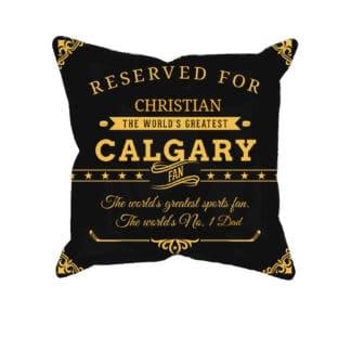 Personalized Buffalo Hockey Fan Pillow Case