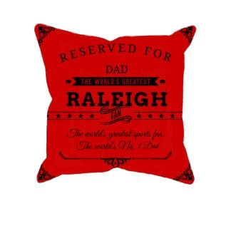 Personalized Raleigh Hockey Fan Custom Printed Pillowcases