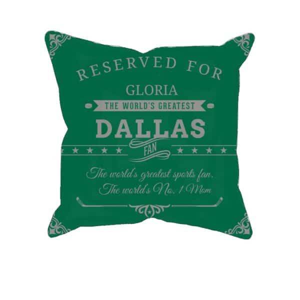 Personalized PrintedDallas Hockey Fan Pillow Case