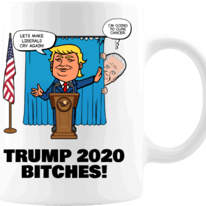 Biden Trump Coffee Mug 11oz White