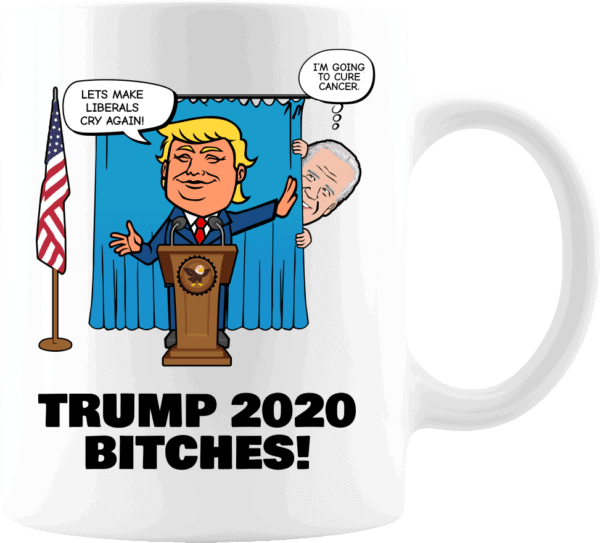 Biden Trump Coffee Mug 11oz White