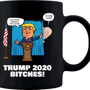 Biden Trump Custom Printed Coffee Mug 11oz Black