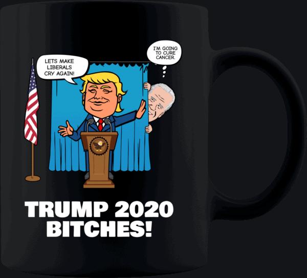 Biden Trump Custom Printed Coffee Mug 11oz Black