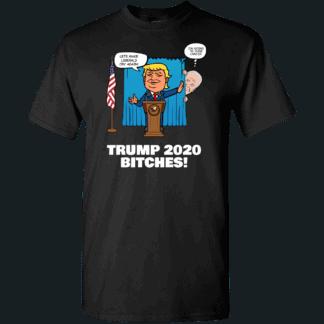 Biden Trump Custom Printed Unisex T-Shirt Black