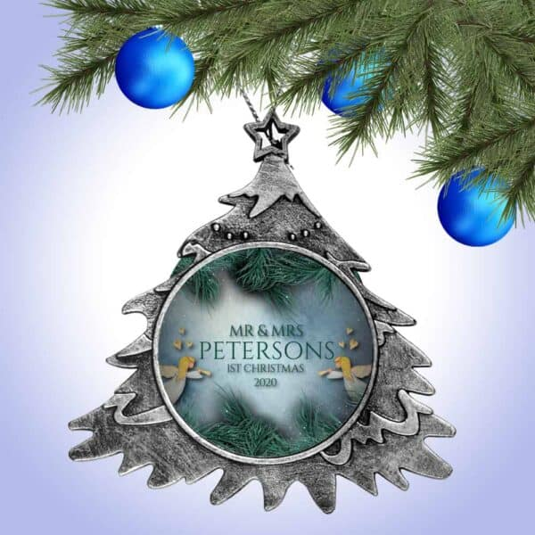 Personalized Christmas Tree Ornament – First Christmas