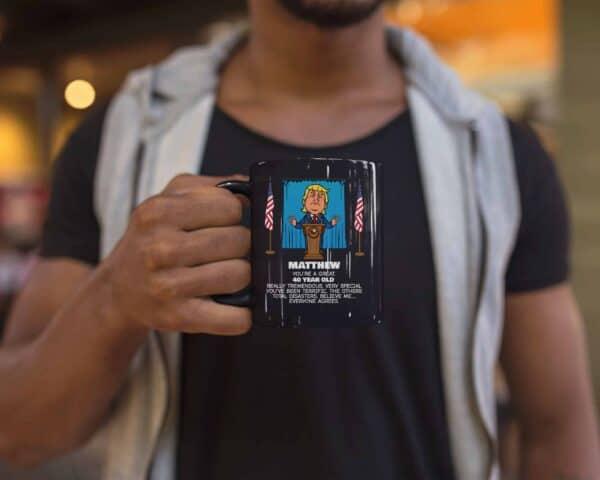 Trump Personalized Custom Printed Coffee Mug Everyone Agrees