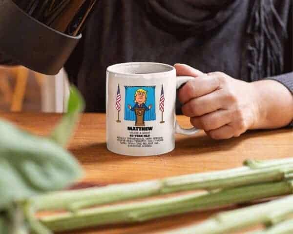 Everyone Agrees - Trump Personalized Printed Coffee Mug