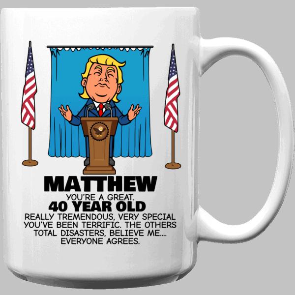 Everyone Agrees - Trump Personalized Printed Coffee Mug 15oz White