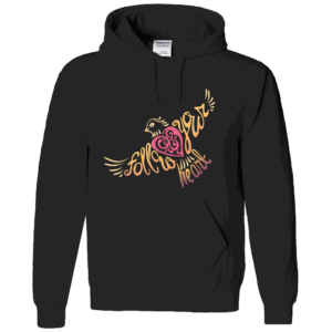 Follow Your Heart Hoodie Design