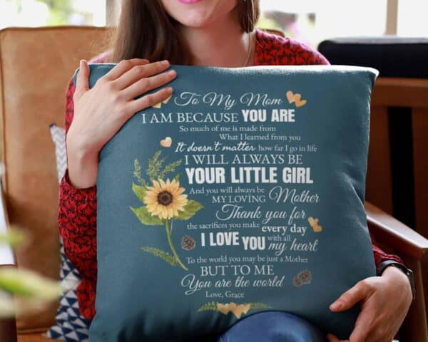 To My Mom Personalized Pillow Case 02