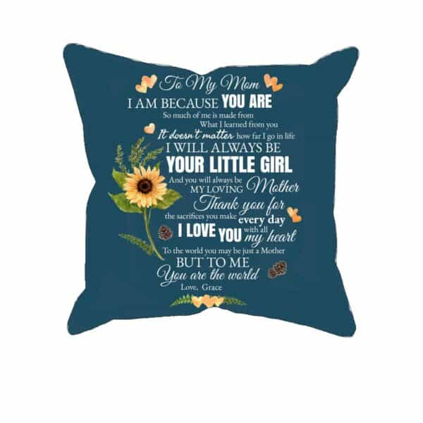 To My Mom Personalized Pillow Case