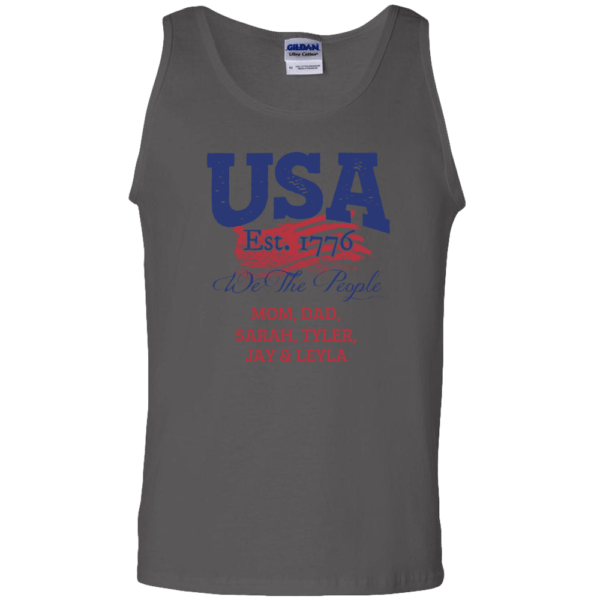 USA We the people - Personalized Custom Printed Tank Top