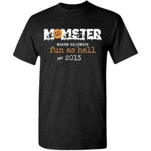 Momster - Personalized Custom Halloween T-shirt