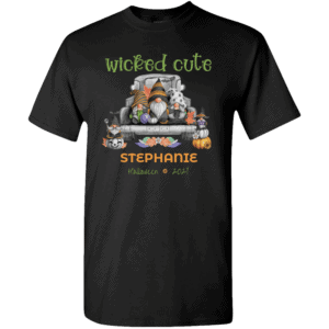 Personalized Wicked Cute Halloween T-shirt Design