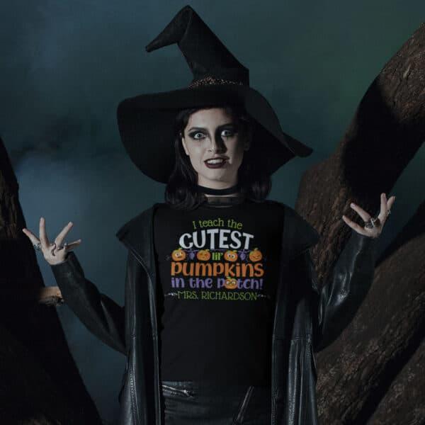 Cutest Pumpkins - Personalized Custom Halloween T-shirt
